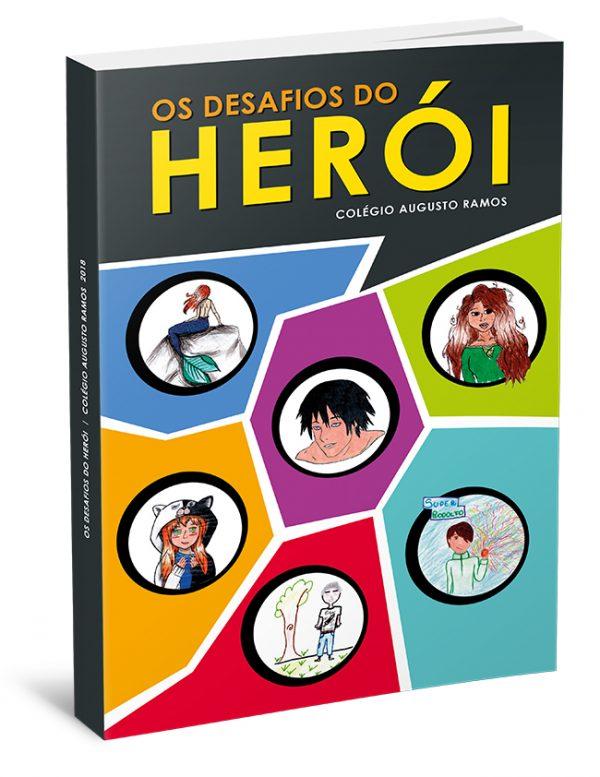 Capa – Os Desafios do Herói – Colégio Augusto Ramos 06